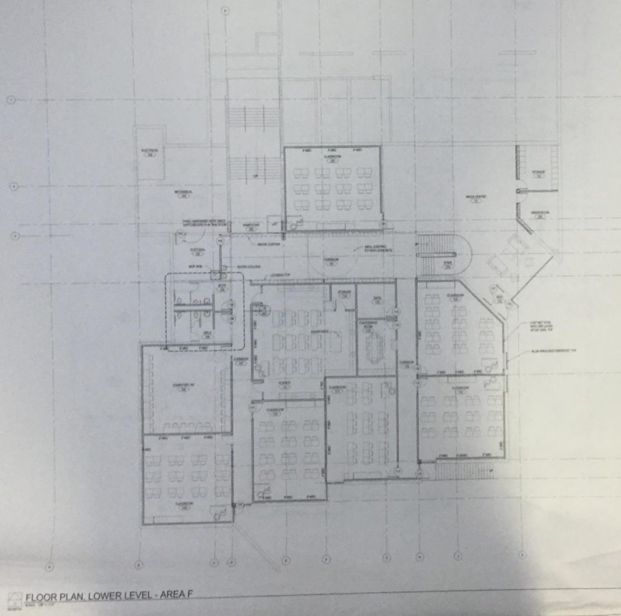 New floor plans for the Junior High.