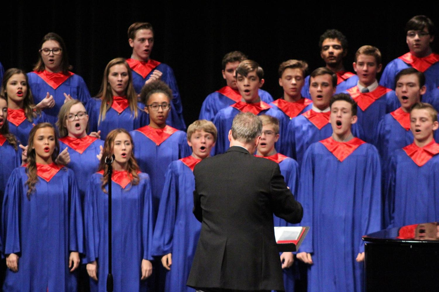 Mr. Matt King directed his Platteview Concert Choir for the Fall Concert on November 1st, 2018.