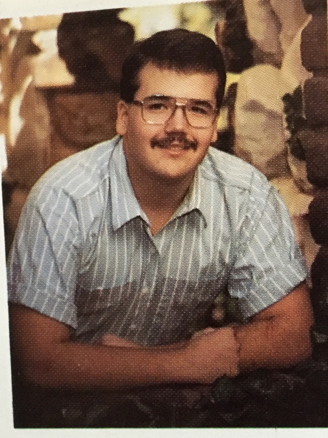 Ron (Boo) Smith, class of 1988.