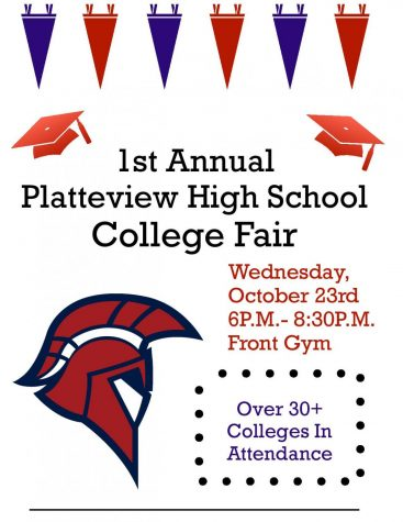 Platteview to Host College Fair 10/23