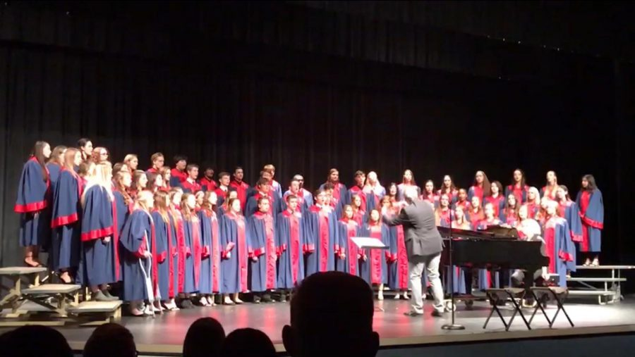 The+Platteview+Concert+Choir+began+their+fall+concert+on+October+28%2C+2019+with+%E2%80%9CCome+to+the+Music.%E2%80%9D
