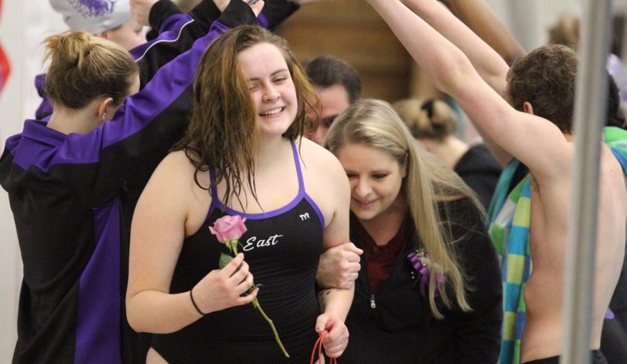 Senior Swimmers Celebrate Successful Season