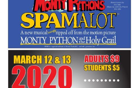 """Songs, Knights, and Holy Grails: PHS Musical Prepares for """"Spam-a-lot"""""""