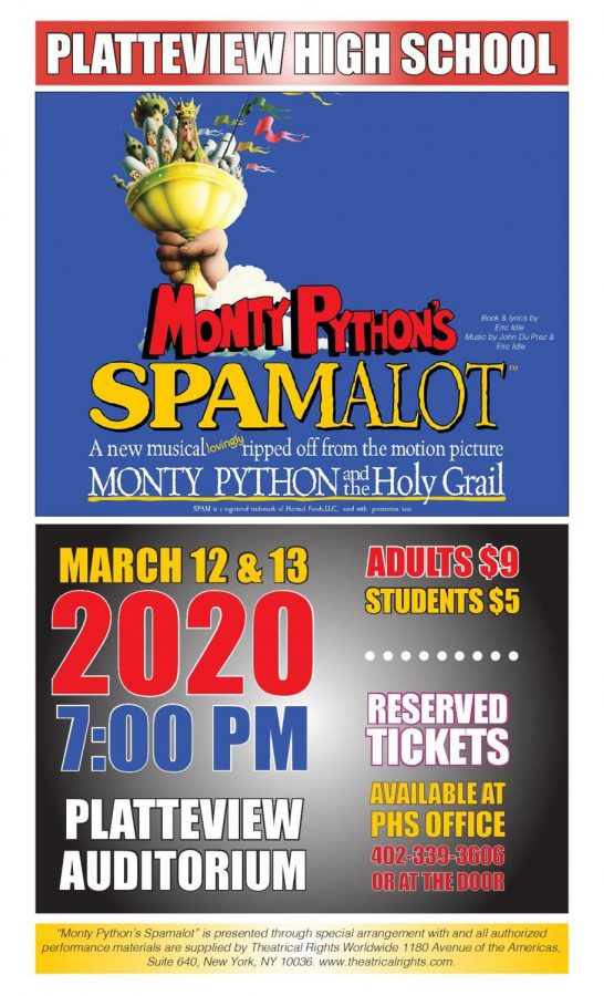 "Songs, Knights, and Holy Grails: PHS Musical Prepares for ""Spam-a-lot"""