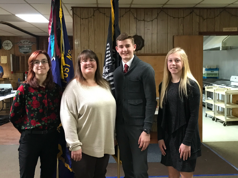 Platteview Students and Veteran Honored at VFW Dinner