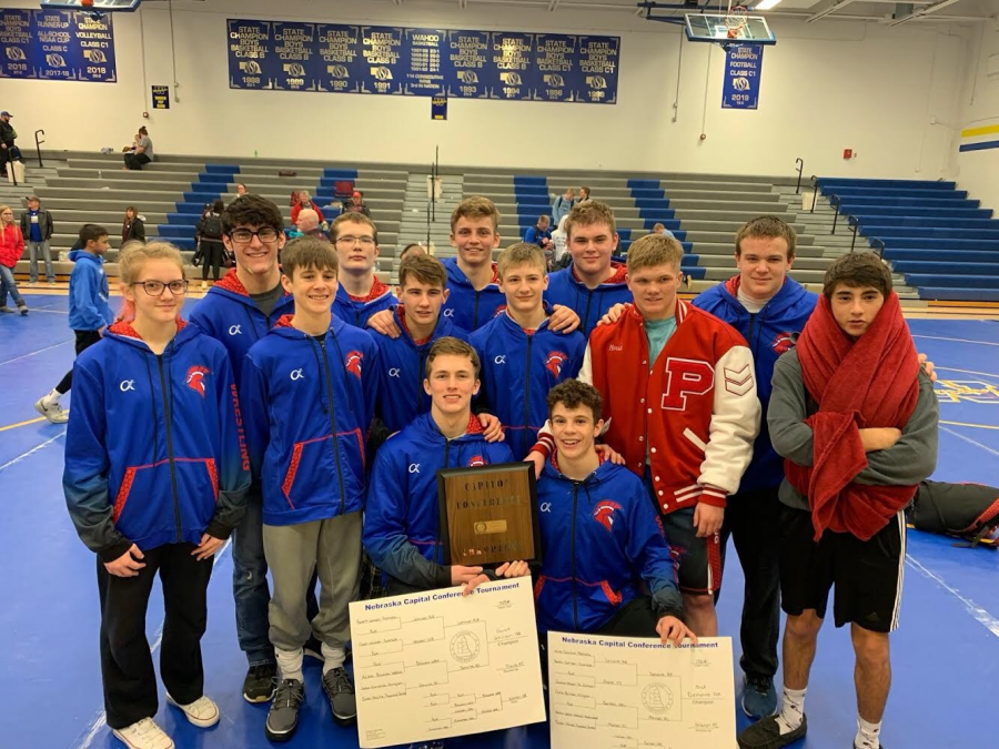 Boys Wrestling Team First – Wins Conference Meet for First Time In PHS History