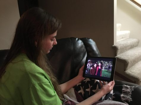 Senior Grace Hartley watches Gilmore Girls: A Year In the Life. Click on the video review of the series below to learn why you should watch it too.