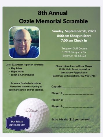 8th Annual Ozzie Memorial Scramble