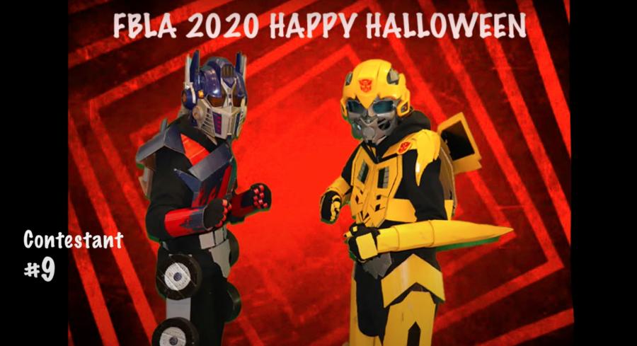 FBLA Halloween Costume Contest