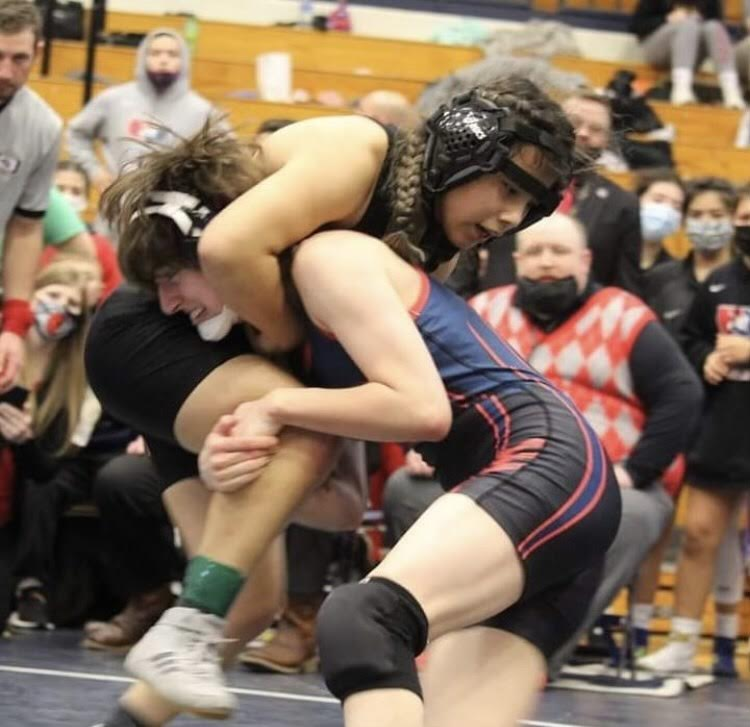 Wrestling Girls Place at State