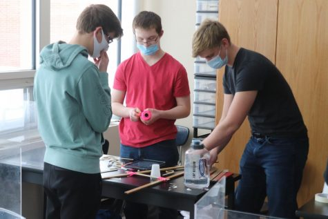 Project of the Week: Physics Classes Build Projectile Launchers